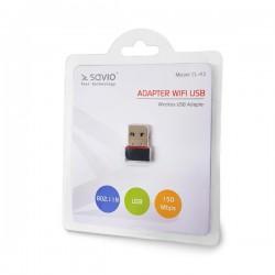 Karta WiFi SAVIO CL-43 (USB...