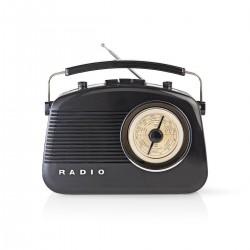 Radioodtwarzacz retro nedis...